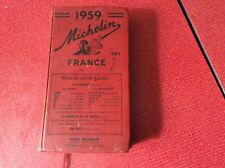 Guide MICHELIN ROUGE France 1959