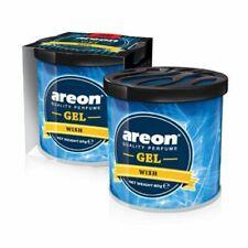 Areon Wish Gel Air Freshener for Car 80g (Set of 3Pcs.)