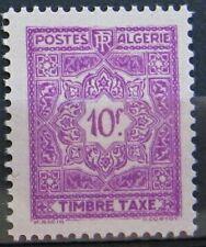 ALGERIE Taxe 43 - Neuf** sans charniere - Regroupez vos achats