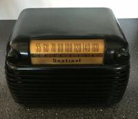 VERY NICE VINTAGE SENTINEL BAKELITE RADIO MODEL 314  *WORKING*