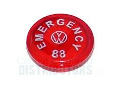 HAZARD LIGHT EMERGENCY FLASHER DASH SWITCH INSERT VW TYPE 1 3 BUG GHIA BUS