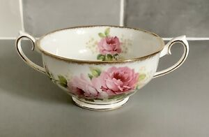 Royal Albert Bone China American Beauty Soup Coupe
