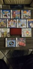 Nintendo New 3DS XL Red Handheld Console With 11 Games