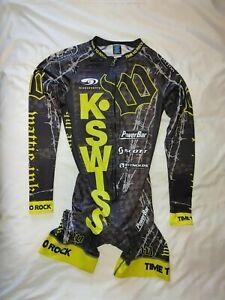 Women's Squadra Premier Full Sub Speedsuit Cycling Skinsuit  Long Sleeve Size M