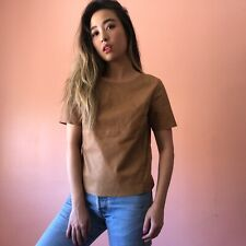 H&M Nude Leather Top