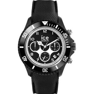 Orologio Uomo ICE WATCH DUNE IC.014216 Large 44mm Chrono Silicone Nero100mt