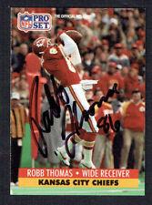 Robb Thomas #539 signed autograph auto 1991 Pro Set Football Trading Card