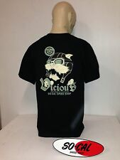 So-Cal t-shirt Vicious Aviator BLACK sz L rear print hot rod 32 ford chev