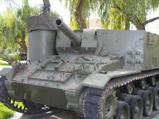 1/35 Commanders 1034 - US M37 105 mm Howitzer Motor Carriage Resin Kit No Tracks