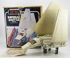 VINTAGE 1984 KENNER STAR WARS IMPERIAL SHUTTLE ROTJ RETURN OF THE JEDI WITH BOX