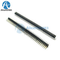 10PCS 40Pin 2.54mm  Double Row Straight Male Pin Header Strip PBC Ardunio