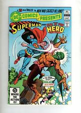 SUPERMAN AND DIAL H FOR HERO  - DC COMIC - #44  - VG