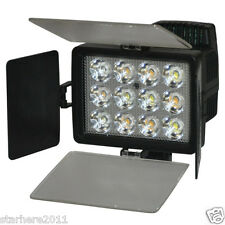 2 Colors Tempreature 12 LED 36W Video Light for Camcorder Camera Lamp LED-1040A