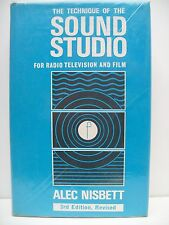 Book. The Technique Of The Sound Studio For Radio, Television and Film. 1974.