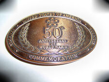 50th Anniversary of WWII Commemorative Belt Buckle