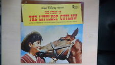 Disneyland Records Walt Disney presents the Story of THE LITTLEST OUTLAW LP 1963
