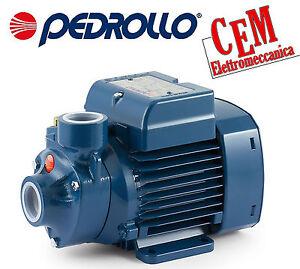 Elettropompa girante periferica Pedrollo Hp 0,50 PKm 60 pompa autoclave acqua