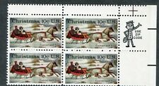 Error 1551 Guttersnipe and color shift.  Currier & Ives 10 cent. Issued in 1974.