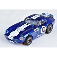 AFX Shelby Cobra Daytona Coupe Blue LIMITED EDITION Mega-G+ HO Slot Car - 22001