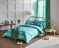 Scion Bedding Mr Fox Teal / Blue Duvet Cover, Pillowcases, Curtains, or Cushion