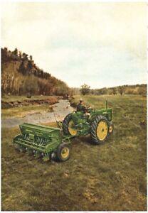 John Deere Tractor 1955 Advertising - Poster (A3)