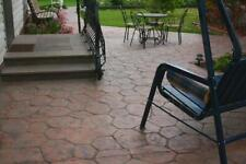 """Stone Decorative Polyurethane stamp for concrete """"Flower"""" for floor and tracks"""