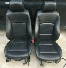 Black Leather White Stitch M Sport Interior Seats Door Cards BMW E90 3 Series