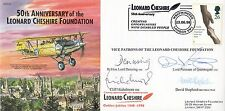 JS(CC)51d 50th Anniv of the Leonard Cheshire Foundation.Signed 4