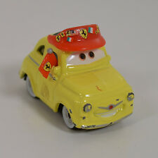 "1.75"" Ferrari Fan Luigi w/ Hat Diecast Metal & PVC Disney Pixar Cars 2"