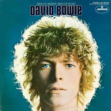 David Bowie Rare 1969 Album Slick Artwork Man of Words Vinyl LP Space Oddity