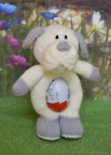 TOBY DOG EASTER EGG HOLDER TOY  KNITTING PATTERN INSTRUCTIONS TO MAKE YOURSELF