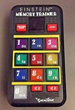 Einstein Pocket Memory Trainer Electronic Game Model Excalibur EI5854BK Portable