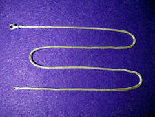 NEW 935 Sterling Silver Snake Chain 45cm.
