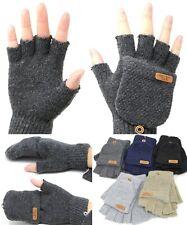 Unisex Fashion Mitten Gloves Fingerless Knit Winter Gloves Men Women Warm NYC
