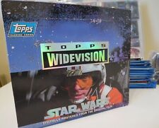 1994 TOPPS Star Wars Widevision Trading Cards - Full set plus extras
