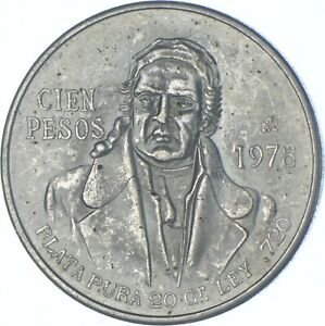 Better Date - 1978 Mexico 100 Pesos - SILVER *604