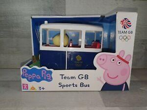 Peppa Pig limited edition Team GB sports bus
