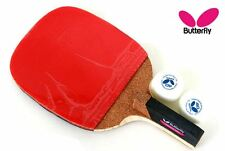 New Butterfly Addoy-P20 Table Tennis,Ping Pong Racket Pen hold Paddle Free 2ball