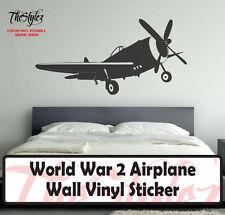 World War 2 Airplane Wall Vinyl Sticker