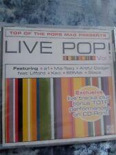 Various - Live Pop! - Vol 1 (CD) new SEALED