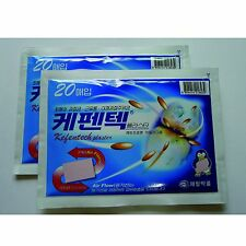 Kefentech Plaster Pain Relief Patches, TTS Technology, Korea JEIL, 40 Sheets New