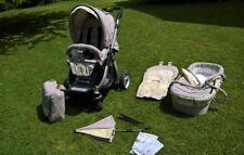 Teutonia Cosmo grau Kombikinderwagen & Sportwagen Einsitzer Seat Kinder…