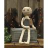 "farmhouse primitive country rustic Halloween decor stuffed Mummy 18"" doll"