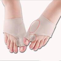 Silicone Hallux Valgus Correction Bunion Corrector Toe Separator Foot Care Tools