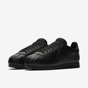 Nike Classic Cortez Leather Black/Anthracite   A42