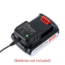 20V Power Tools Li-ion Batteries Charger for BLACK&DECKER/PORTER CABLE/STANLEY