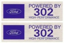 POWERED BY FORD 302 HIGH-PERFORMANCE Valve Cover Decals