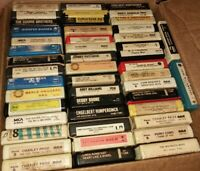 Lot ot 47 - 8 Track Tape Cartridges, Country, Classical, Pop Mixed Gender