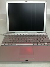 "Apple Laptop PowerBook G4 12"" 2004 1.33 GHz 256 MB RAM 40 GB HDD A1010 M9183LL/A"