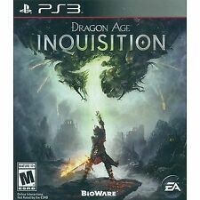 Dragon Age Inquisition (Sony PlayStation 3, 2014) NEW SEALED FAST SHIPPING ! PS3